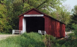 Red Covered Bridge - Princeton IL