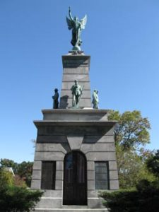 Soldiers & Sailors Monument - Princeton IL